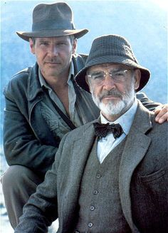 Sean Connery and Harrison Ford.... always great movies.