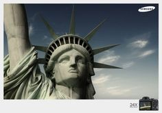 Samsung | The Statue of Liberty 24X | 2011