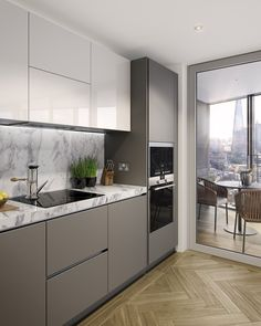 ©ArcMedia – Two Fifty One Kitchen - CGI architectural visualisation  ~ Great pin! For Oahu architectural design visit http://ownerbuiltdesign.