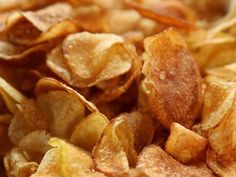 Spiced-Up Potato Chips : Bold spices like garlic salt, paprika and a pinch of cayenne make up the mixture that flavors Ree's crispy chips.
