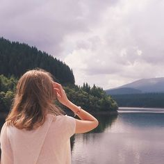 Beautiful lake Oasa in Romania
