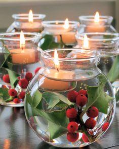 christmas_wonderland_is_magic on Poshinsta • Posts, Videos & Stories #poshinsta #christmas #christmastree #christmasdecorations #xmas Great idea😃😃. #red#green#idea#pic#greatidea#december#candles#water#deco#stunning#beautiful#iloveit#picoftheday