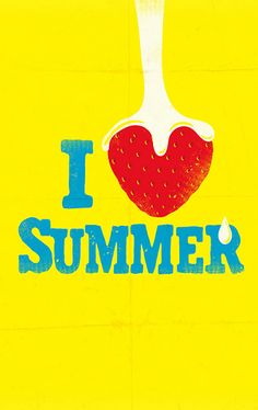 I Love Summer Happy Summer, Hello Summer, Summer Of Love, Summer Beach, Summer Days, Summer Time, Crazy Day, Summer Quotes, Illustration