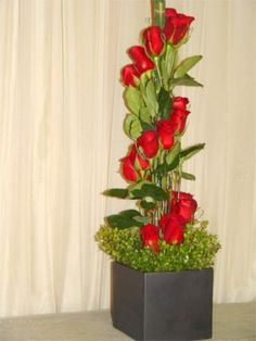 Modern Floral Arrangements | Rainbow Flowers - Our Designs Page - Flowers For All Events ...