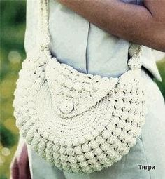 """New Cheap Bags. The location where building and construction meets style, beaded crochet is the act of using beads to decorate crocheted products. """"Crochet"""" is derived fro Crochet Handbags, Crochet Purses, Knit Or Crochet, Cute Crochet, Crochet Stitches, Crochet Bags, Handmade Handbags, Handmade Bags, Beautiful Handbags"""