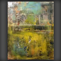 art painting abstract painting original steampunk by mattsart