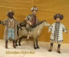 mis figuras Napolitanas 1/12...miniaturas de Almudena González