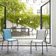 Mobiliario de exterior,Sillas de jardín modernas - Todos los fabricantes de la arquitectura y del design del sector - Vídeos