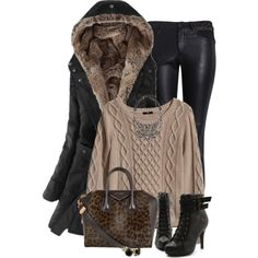 """Winter Coat"" by spherus on Polyvore"