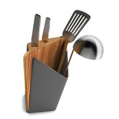 Pojemnik na akcesoria kuchenne z deską do krojenia Forminimal - Forminimal - Fabryka Form