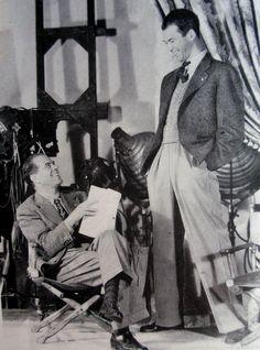 Frank  Capra with James Stewart