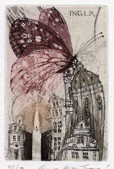 Ex libris by Eva Hoskova