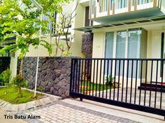 Pagar Rumah Minimalis Batu Alam Kali - http://goo.gl/iLRLSc