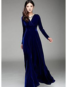 BLINX Women's Vintage/Sexy/Bodycon/Beach/Party/Work V-Neck Long Sleeve Dresses (Silk/Spandex). Get awesome discounts up to 80% Off at Light in the Box using Coupon and Promo Codes.