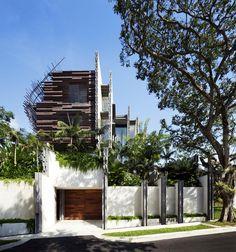 Raw Nest House by WOHA Architects