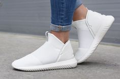 Slide Your Feet Into the Latest Laceless adidas WMNs Tubular Defiant - MISSBISH | Women's...