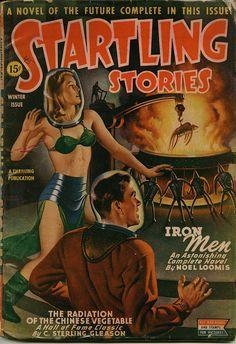 Earle K. Bergey : Startling Stories Winter 1945