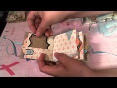 Itty Bitty Mini album Swap PART 1 These are SO CUTE!!! Awesome Swap on MAS - YouTube