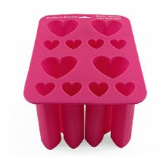 Tube Mold: Hearts (Assorted) Silicone Mold 0902 - Wholesale Supplies Plus Soap Making Recipes, Soap Recipes, Soap Making Supplies, Craft Supplies, Soap Molds, Silicone Molds, Candle Molds, Bath Soap, Goat Milk Soap