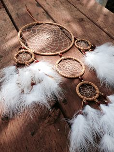 Large Dream Catcher van LunarQuartzCreations op Etsy