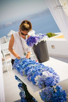 Katerina Agrokipio Flowers Wedding Wish! Setting up for Berna and Haldun's Wedding Ceremony and Dinner Reception @ Dana Villas By Poema Weddings & Special Events Flowers & Deco by Agrokipio Wedding Wish