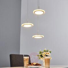 led h ngeleuchte klea h ngelampe esstisch esszimmer pendel lampenwelt drei ringe in m bel. Black Bedroom Furniture Sets. Home Design Ideas