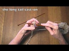 long tail cast-on tutorial from Kennita Tully