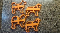 Dog Cookie Cutter Not Personalized  by CNCCreativeGifts on Etsy