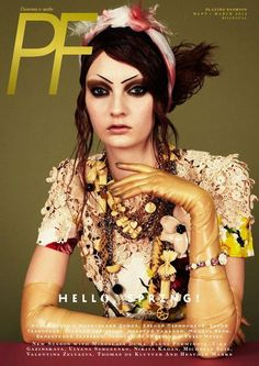 Playing Fashion (PF), March 2012 #cover | Codie Young by Jason Kim