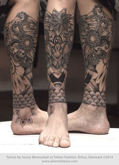 inner calf tattoo - Google Search