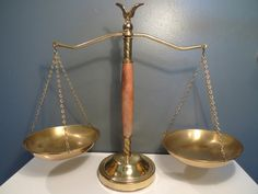 Scales of Justice Balance Scale Decor on Etsy, $20.00