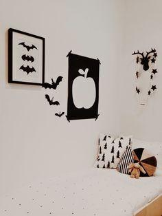 The Little Design Corner | black and white kids room | modern playroom | black and white playroom
