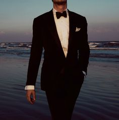 Bow tie, classic suit