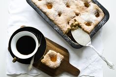Gluten & Dairy Free Apricot Sheet Cake http://thefreefromkitchen.com/apricot-sheet-cake/