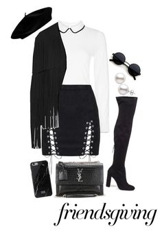 """Untitled #82"" by elsa-ebervik on Polyvore featuring Hobbs, Steve Madden, Tom Ford and Yves Saint Laurent"