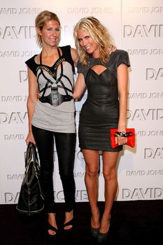 They're the queens of free-spirited style, and not just because of their cult-hit label, Sass and Bide. Sarah-Jane Clarke and Heidi Middleton forged a Glamour Pics, Sass And Bide, Mature Fashion, Summer Fashion Outfits, Red Carpet Looks, Cool Girl, Leather Skirt, Celebrity Style, Fashion Looks