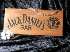 Jack Daniels Bar Sign - Personalised by SJDesigns78 on Etsy