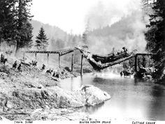 vintage train wreck images   ... History: Bits of 1926 Hollywood train wreck are still in Row River