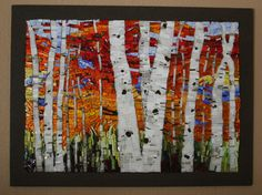 """See this image on Society of American Mosaic Artists: """"Autumn Blaze"""""""