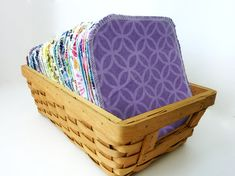 50 Reusable Cloth Wipes - Cloth Diaper Wipes - Neutral Colors or ...