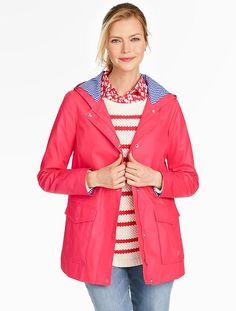Shoreline Raincoat - Talbots