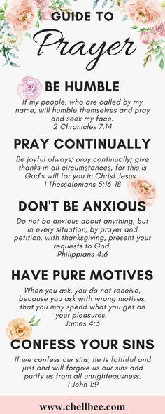 How to Pray: 12 Scripture Characteristics of #Prayer #scripture #christian