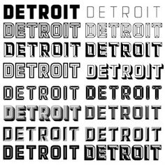 Detroit by Match & Kerosene. 12 font system that allows for layering, love the possibilities with this.
