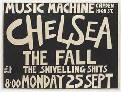 punk posters on the london underground - Google Search