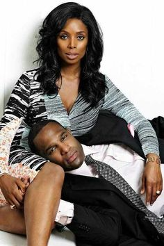 """Why Did I Get Married,"" because you loved enough to ask. Tasha Smith & hubby"