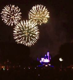 Disneyland Fireworks - I've tried so many times to capture this live.  One day I will.