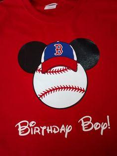 Birthday Boy Mickey Mouse Boston