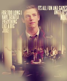 Sebastian Smythe....id still wrather see Blaine with him tban Kurt.