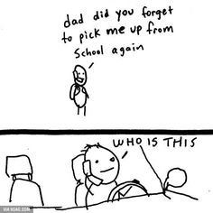 I laughed but then realized that this actually happened to me...