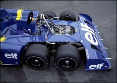 Tyrrell P34. Jody Scheckter said he didn't like the car, even though the team was always running near the front, and won the Swedish Grand Prix
